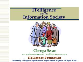 ITelligence and the Information Society