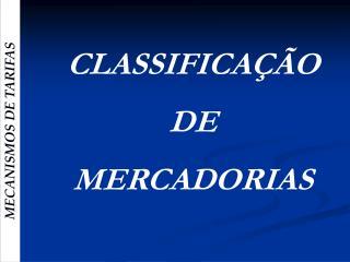 MECANISMOS DE TARIFAS
