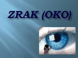 Zrak (oko)