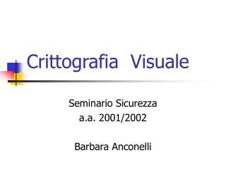 Crittografia  Visuale