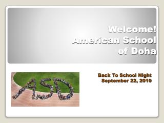 Welcome!  American School  of Doha
