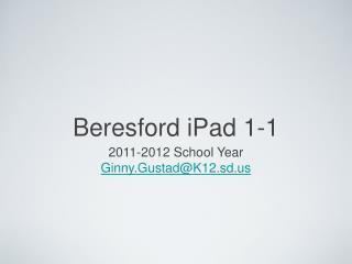 Beresford iPad 1-1