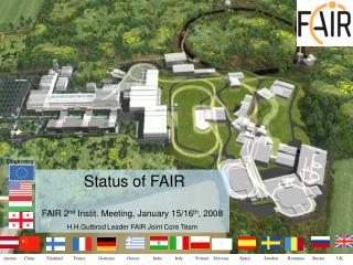 FAIR – Facility for Antiproton and Ion Research