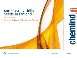 Anticipating skills needs in Finland