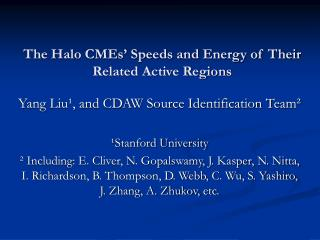 The Halo CMEs' Speeds and Energy of Their Related Active Regions