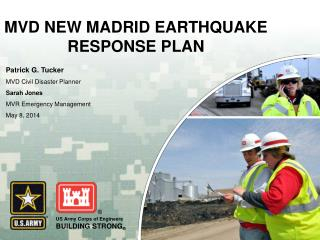 MVD NEW MADRID EARTHQUAKE RESPONSE PLAN