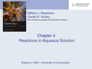 Chapter 4 Reactions in Aqueous Solution