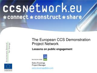 The European CCS Demonstration Project Network