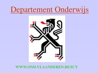 WWW.OND.VLAANDEREN.BE/ICT