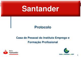 Protocolo Casa de Pessoal do Instituto Emprego e Formação Profissional
