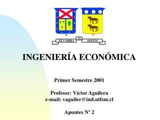 INGENIER�A ECON�MICA