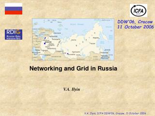 Networking and Grid in Russia