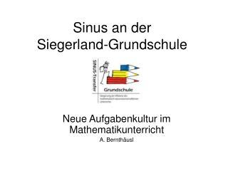 Sinus an der  Siegerland-Grundschule