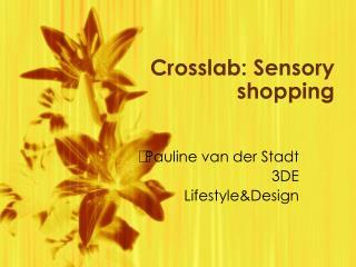 Crosslab: Sensory shopping