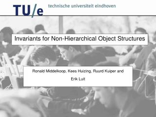 Invariants for Non-Hierarchical Object Structures