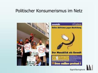 Politischer Konsumerismus im Netz
