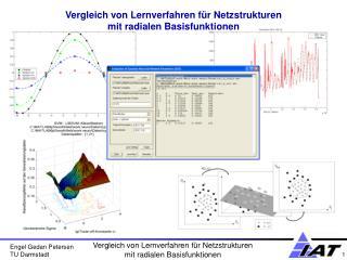 Vergleich von Lernverfahren für Netzstrukturen  mit radialen Basisfunktionen