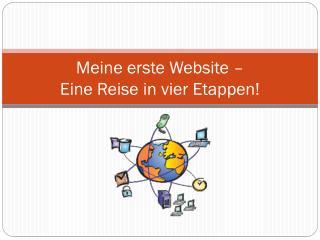 Meine erste Website –  Eine Reise in vier Etappen!