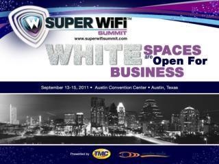 White Spaces: Backhaul What is the Opportunity? Stephen E. Coran Rini Coran, PC