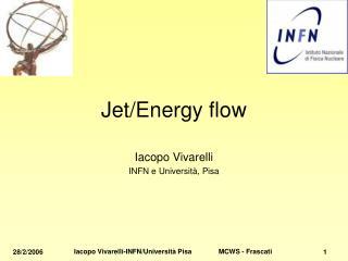 Jet/Energy flow