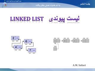 لیست پیوندی
