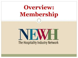 Overview: Membership