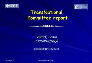 TransNational   Committee report