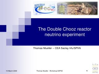 The Double Chooz reactor neutrino experiment