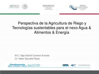 M.C. Olga Xóchitl Cisneros Estrada Dr. Heber Saucedo Rojas