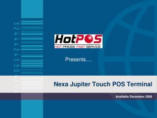 Nexa Jupiter Touch POS Terminal