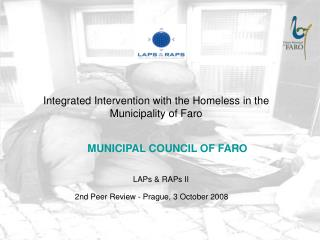 Integrated Intervention with the Homeless in the Municipality of Faro
