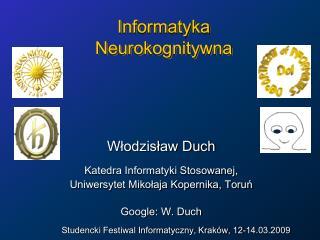 Informatyka  Neurokognitywna