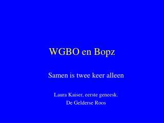 WGBO en Bopz