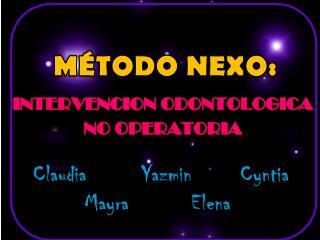 MÉTODO NEXO: