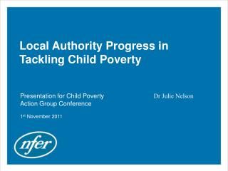Local Authority Progress in Tackling Child Poverty