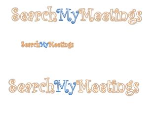 Search My Meetings
