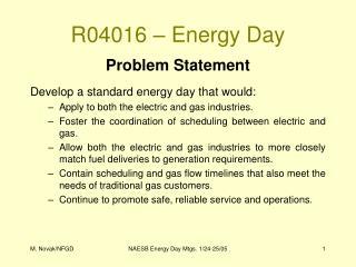 R04016 – Energy Day