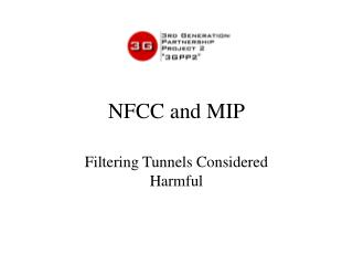 NFCC and MIP