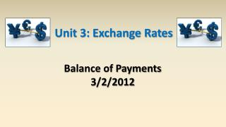 Balance of Payments 3/2/2012