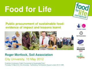 Public procurement of sustainable food: evidence of impact and lessons learnt
