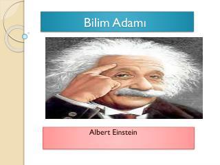Bilim Adamı