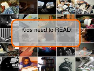 Kids need to READ!
