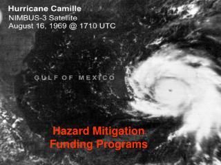 Hazard Mitigation  Funding Programs
