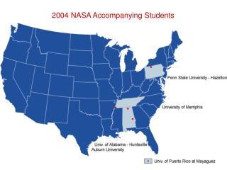 2004 NASA Accompanying Students