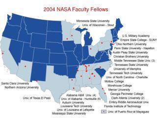 2004 NASA Faculty Fellows