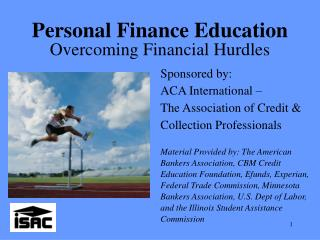 Personal Finance Education Overcoming Financial Hurdles