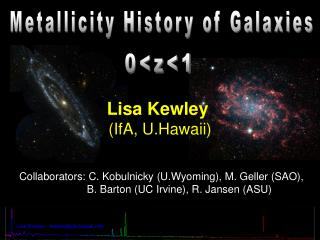 Metallicity History of Galaxies
