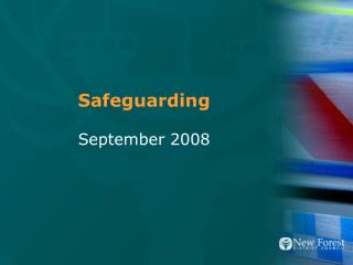 Safeguarding September 2008