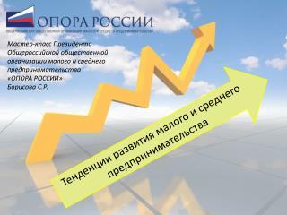 Тенденции развития малого и среднего предпринимательства
