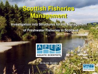 Scottish Fisheries Management